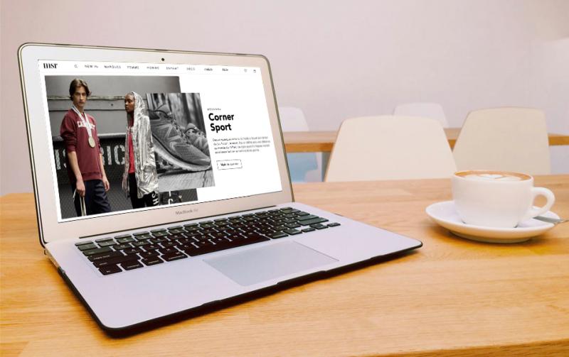 Wink créer un site Mock Up